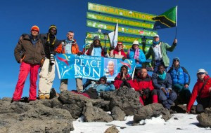 On top of Mount Kili Foto: provided by Vasanti